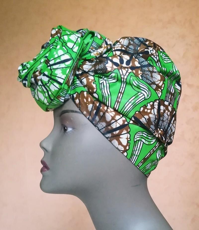 Ankara foulards de tête  turban Africain Foulard de wax par ... b31d511872e