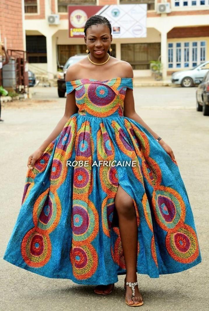 robe de mari e africaine cendrillon robe de bal robe de princesse afrikrea. Black Bedroom Furniture Sets. Home Design Ideas