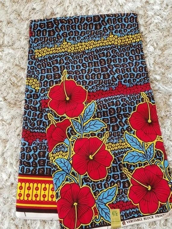 African Cotton Fabric Wax Print Per Yard New Design Supreme Quality Ankara