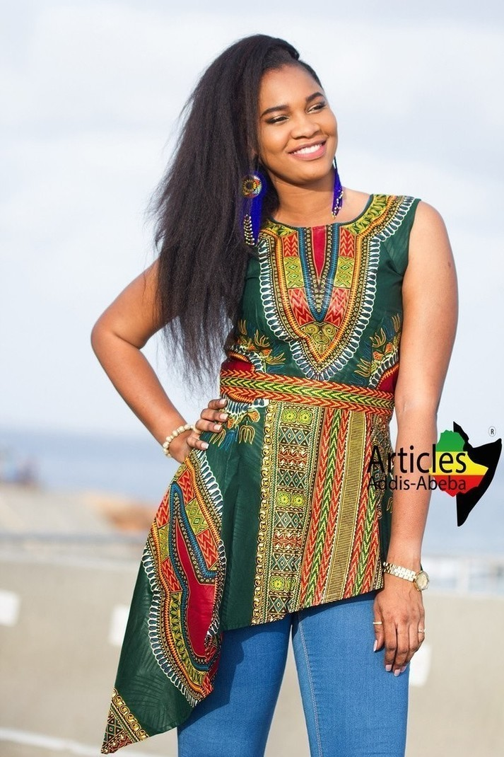 Robe Taille Basse Epique Verte par articles-addis-abeba - Tops ... c4036879201