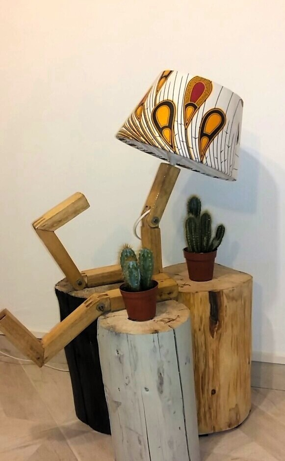 Arty lamp by kensi - Lamps - Afrikrea
