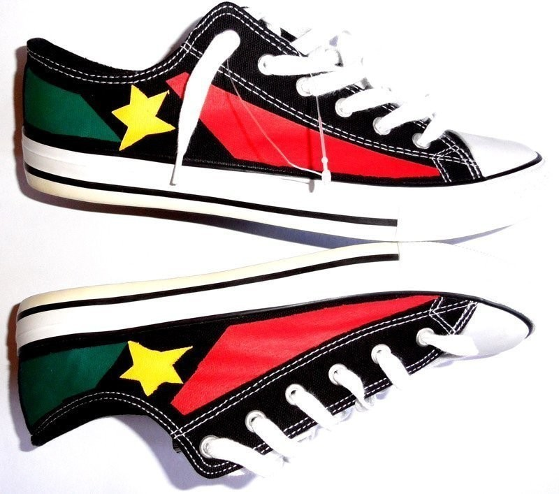 Reggae sneakers light style converse hand painted   painted shoes ... 0f6f9c48a