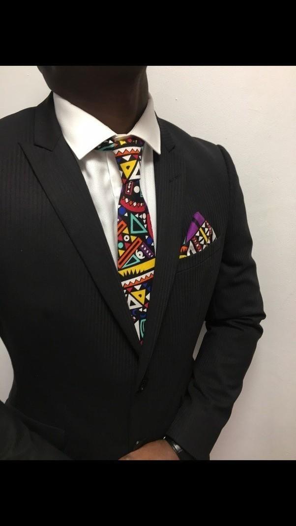 33ab2aa4eb51c Cravate au couleur ethnique par kasolya - Cravates - Afrikrea