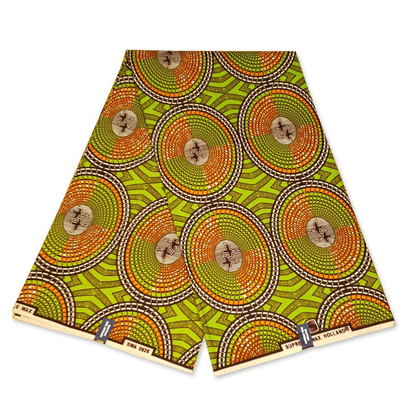 African Cotton Fabric Wax Print Per Yard New Design Supreme Quality Ankara
