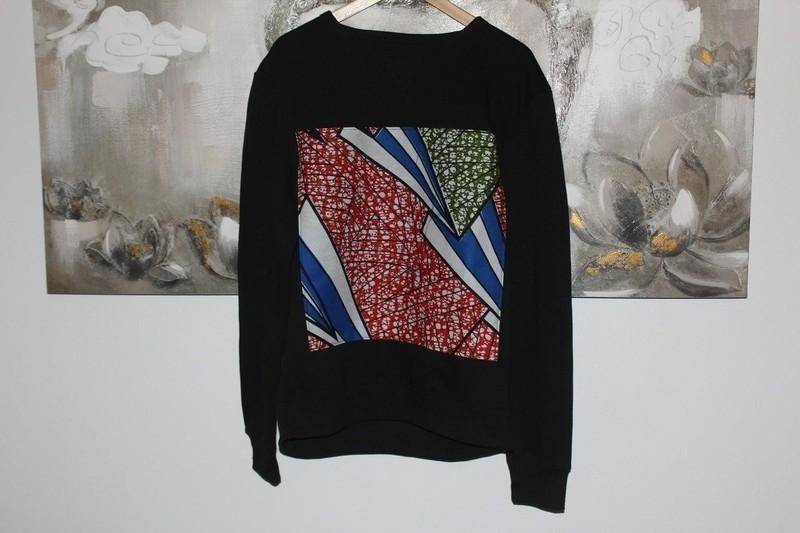 Men Sweatshirt, Personalised Ankara sweater, African fabric clothes ... 331436dba41