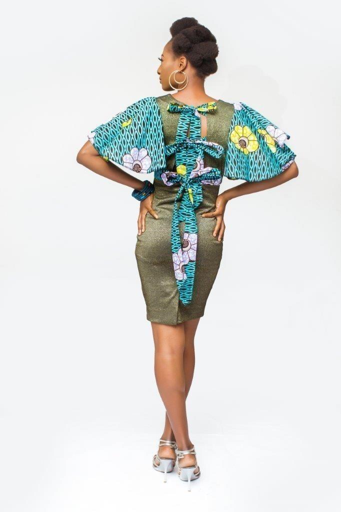 aca5d352429 African Print dress