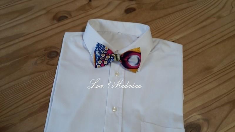 Noeud papillon wax ajustable pour homme par love-madinina - Noeud ... 650486bae99