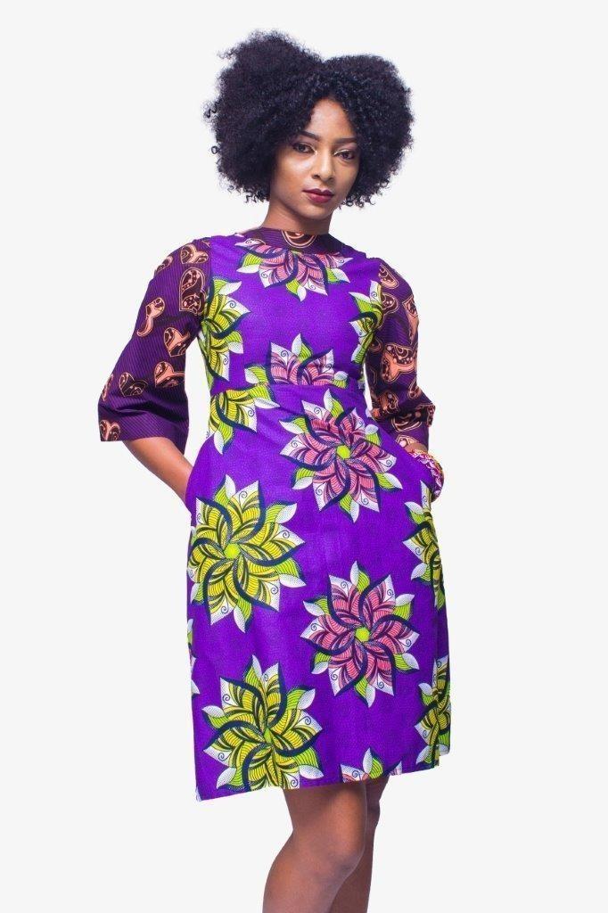 b7e5915429da3 African Print dress,Ankara dress,Kitenge dress,African Womens ...