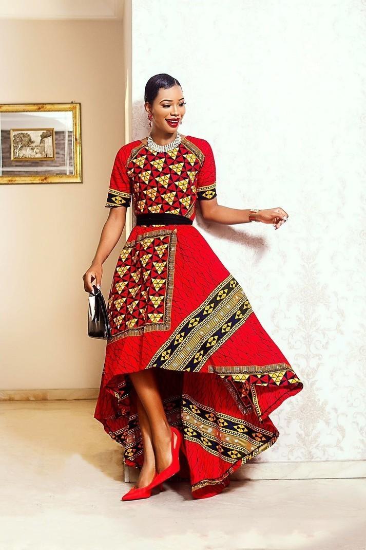 3daff3cb79b Amina Hilow by nuraniya - Mid-length Dresses - Afrikrea