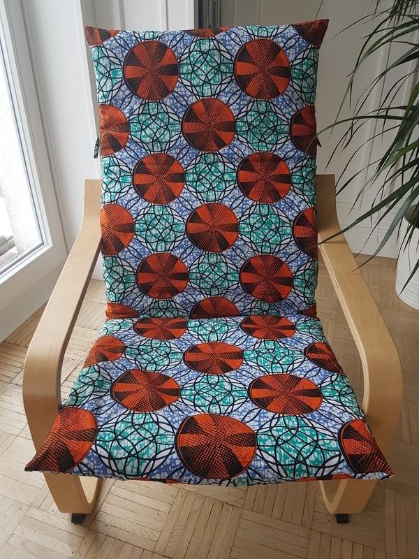 Ikea Poang Draaifauteuil.Cover For Ikea Poang Armchair Orange Wheels By Waxik224 Seats