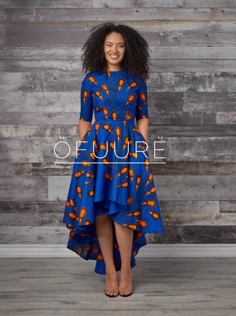 827493370e5 ROBE TOLU HI-LOW par ofuure - Robes longues - Afrikrea