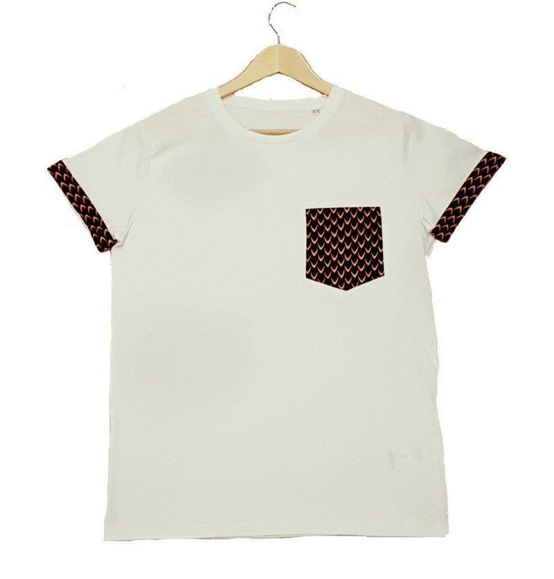 071649c160 BLACK POCKET R WAX TEE by ladjy-clothing - Women T-shirts - Afrikrea