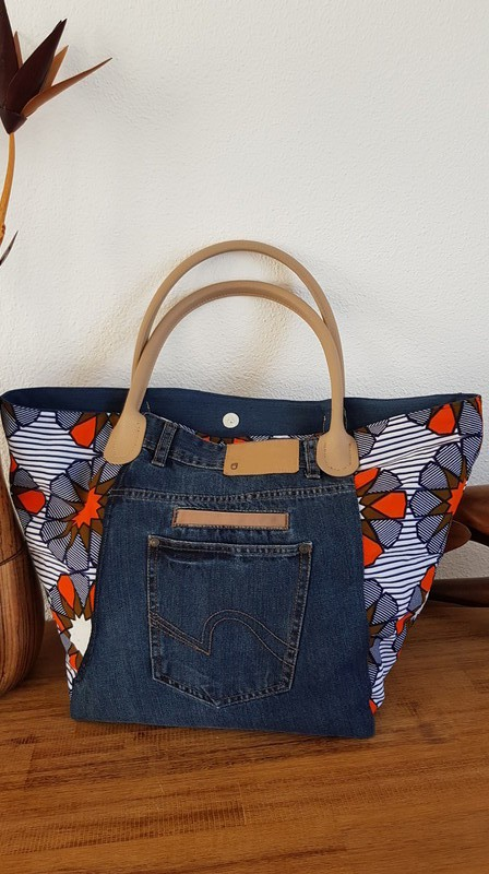 44bf151c25 Cabas bag Xl by kichi-creation - Hand bags - Afrikrea