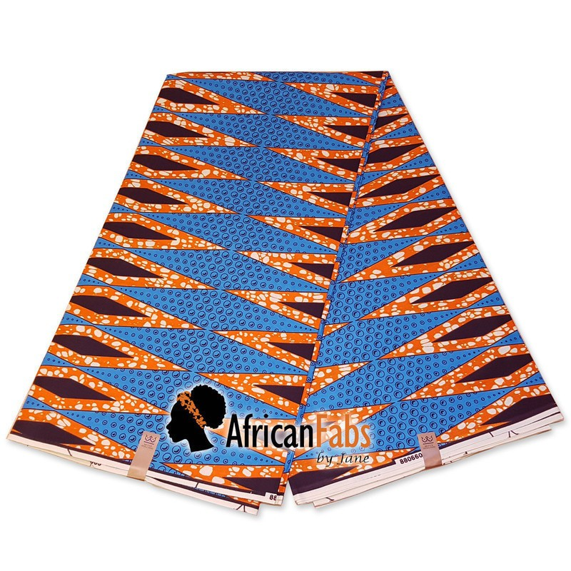 African Cotton Print Fabric Ankara Wax Beautiful *FREE P/&P* 3-6 YARDS