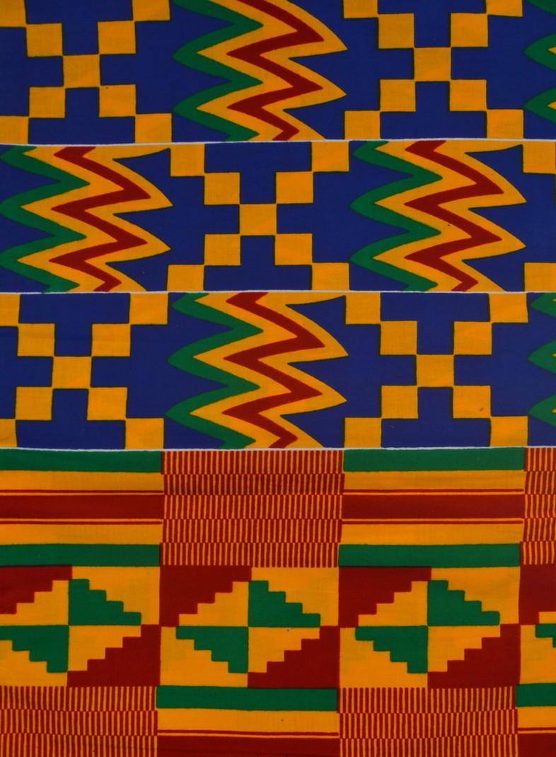 Kente Print Fabric Wax Print Kente Fabric Ghana Fabric