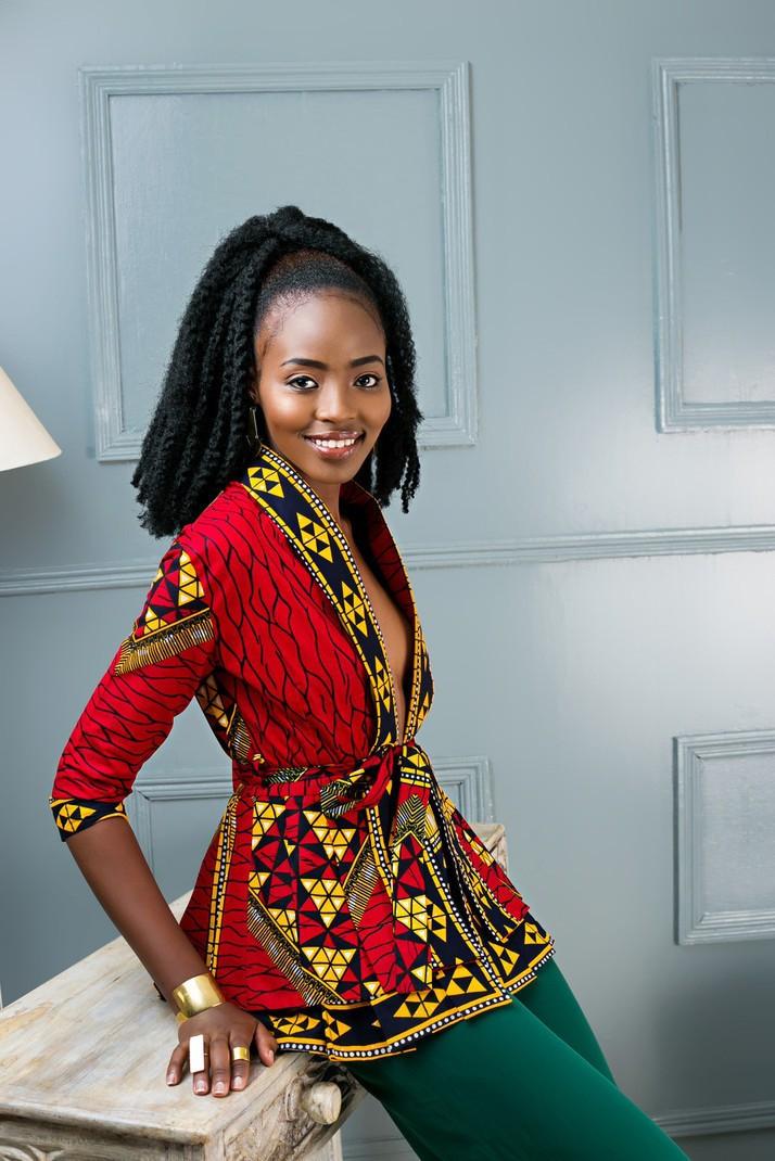 6be642cd82f6 Nyota African Print Peplum Jacket by kahaari - Peplum Tops - Afrikrea