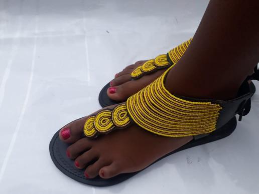 21628dec973df African sandals / Maasai sandals / Kenyan sandals / women sandals /  handmade sandals