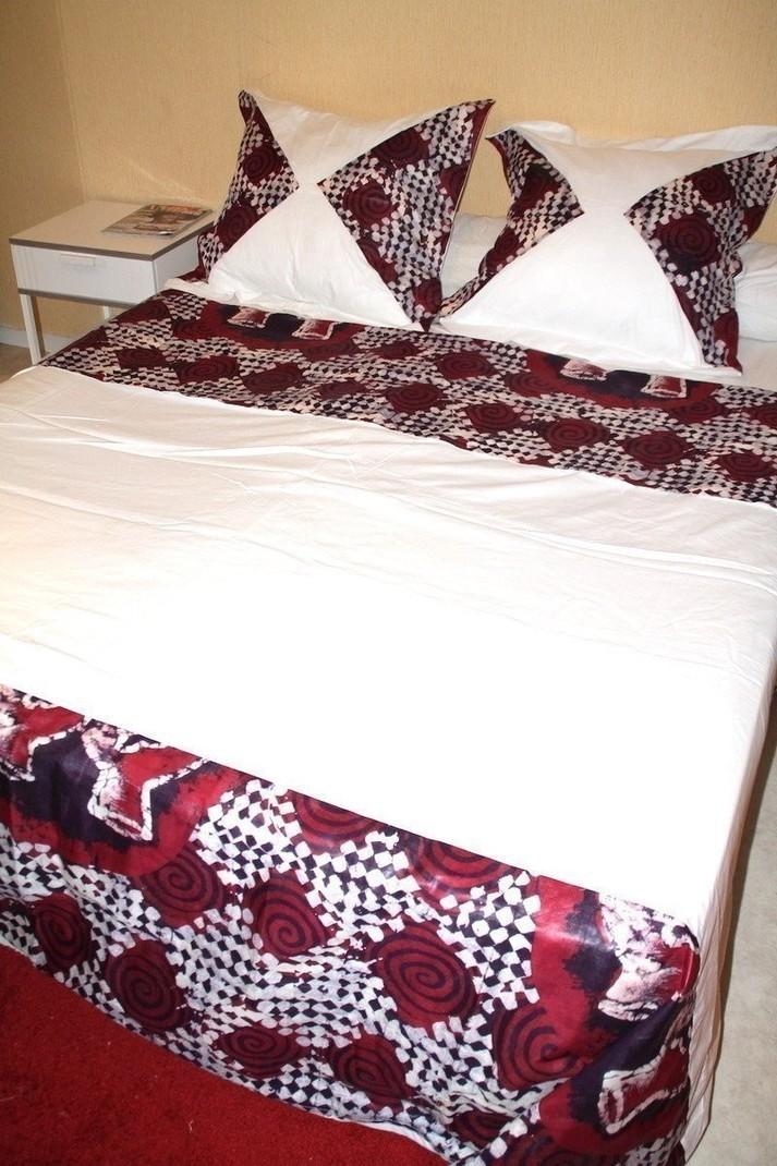 draps de lit en anglais awesome parure de lit angleterre ensemble drap plat housse x taies. Black Bedroom Furniture Sets. Home Design Ideas