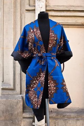 Cape kimono parapluies et papillons par bazara-pagne - Capes et ... 99511b6fdd6
