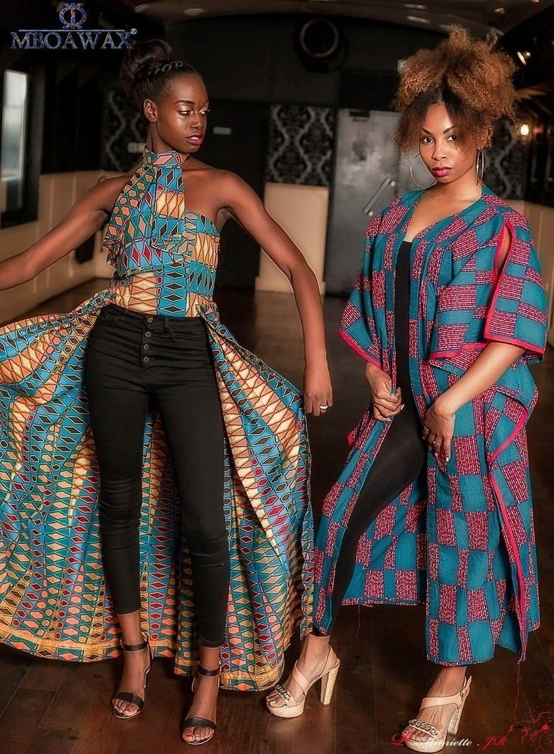 Robes de soiree en tissu wax