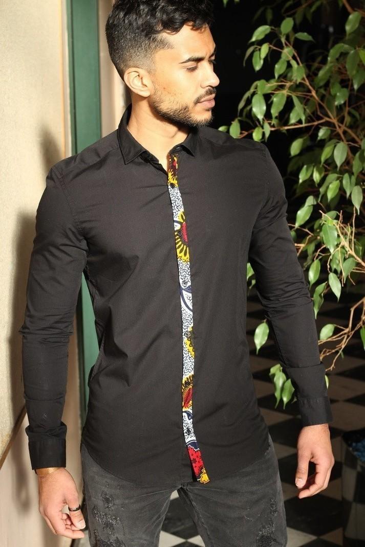 Custom Shirt By Didabazar Men S Long Sleeve Shirts Afrikrea