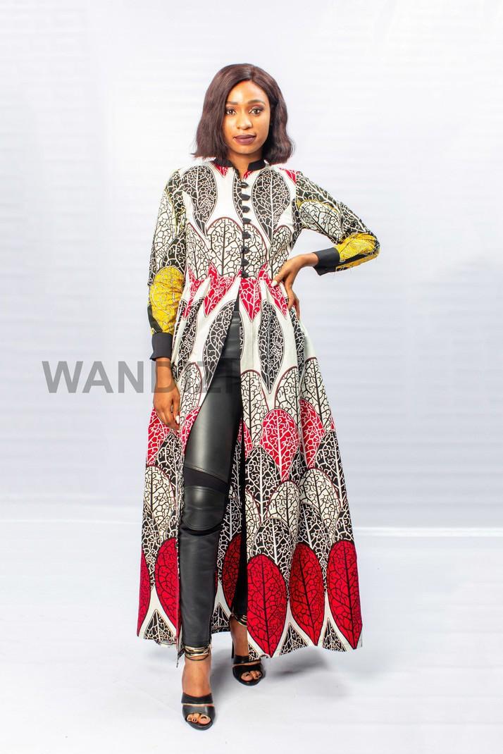 496e7a9ae31 Robe africaine longue rouge de transformateur