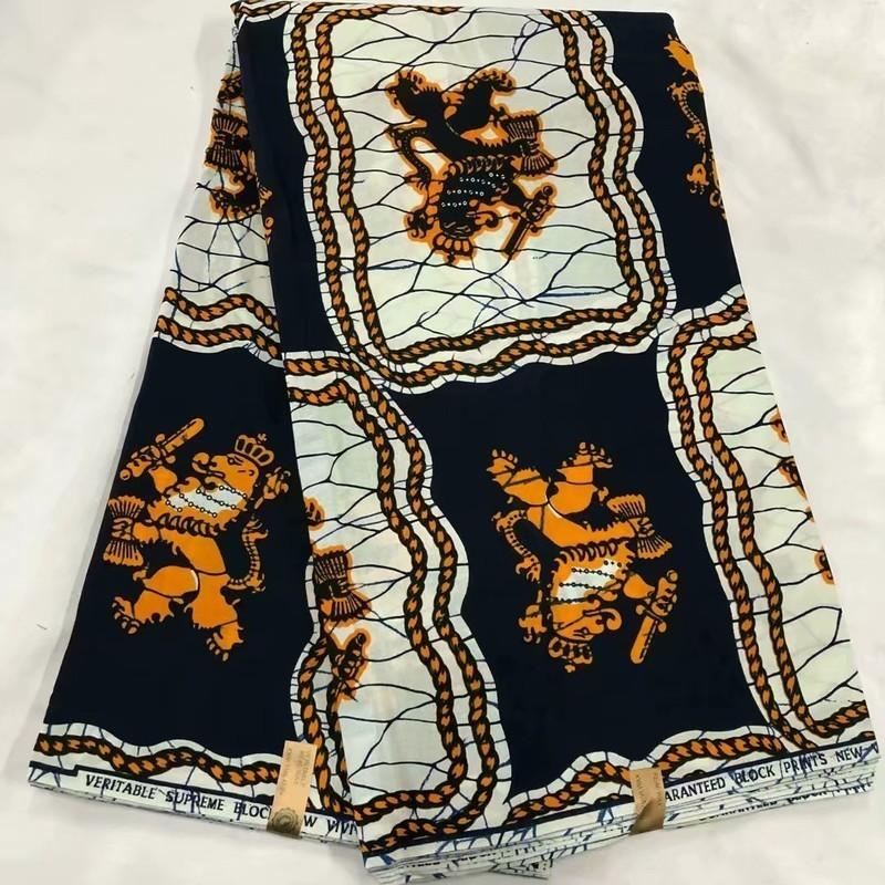 African Tissu de coton cire imprimé par Yard Nouveau Design Suprême Qualité Ankara