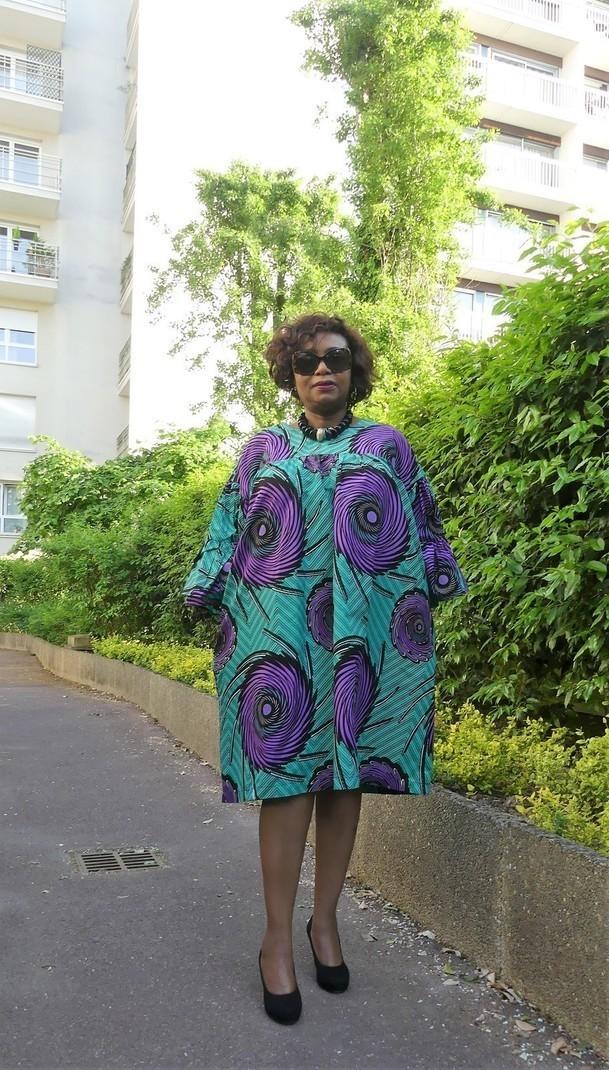 robe africaine, robe pagne, pagne africain, imprimé africain, vêtement - Afrikrea